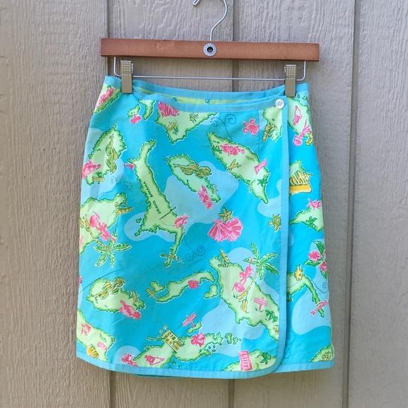 Lilly Pulitzer Dresses & Skirts - Lilly Pulitzer Island Print Skirt